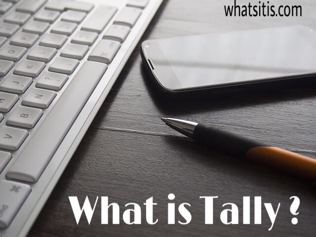 What Is Tally In Accounting Tally Features And Basics