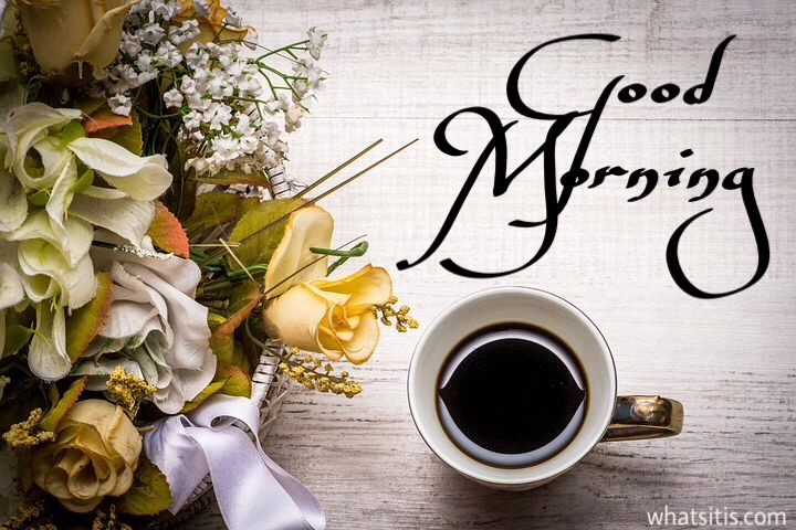 Coffee good morning photo download