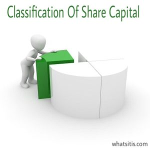Classification Of Share Capital And Types Of Share Capital