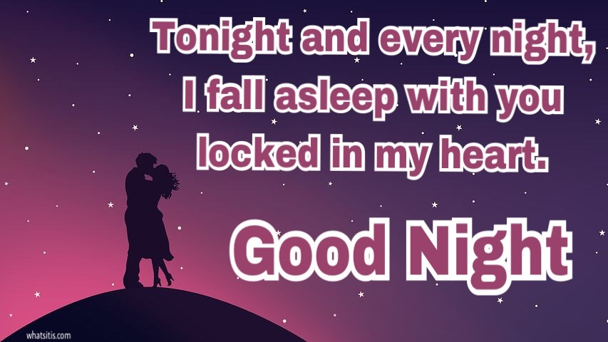 Romantic good night images for boyfriend, girlfriend free download