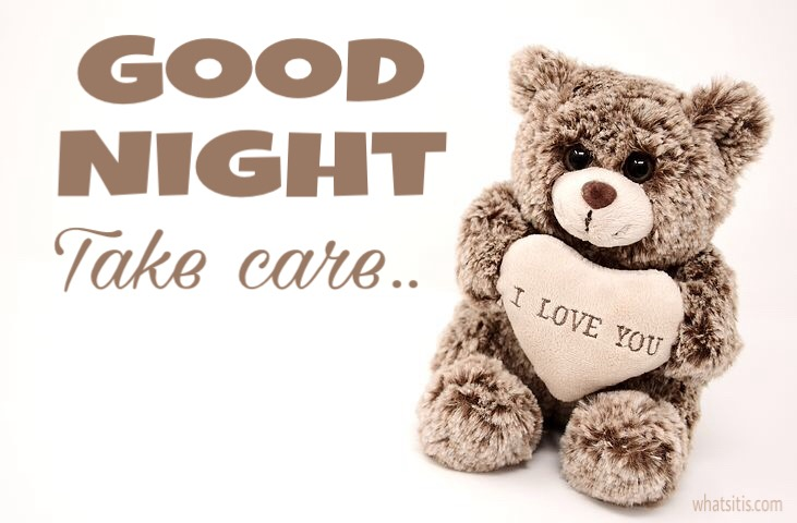 Teddy good night images for whatsapp free download