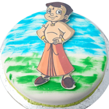 chhota bheem birthday cake images