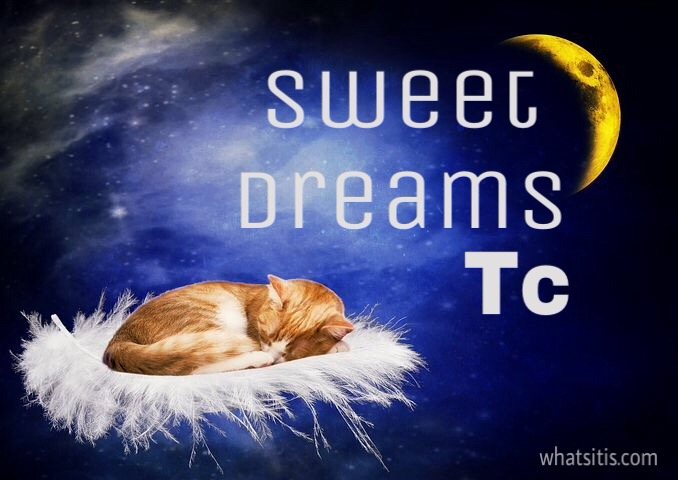 Sweet dreams tc pic