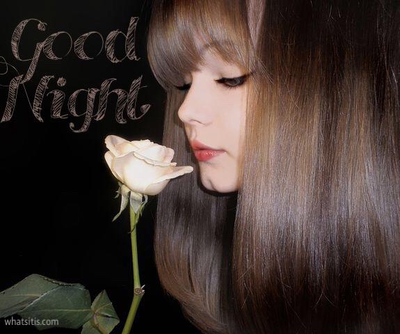 Good night flower image