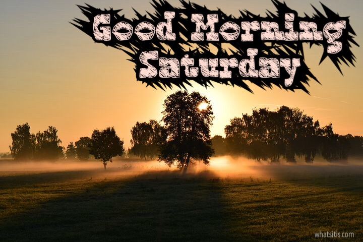 Gm image of Saturday