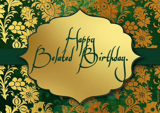 25 belated happy birthday images free download