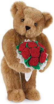 Teddy teddy bear with rose wallpaper