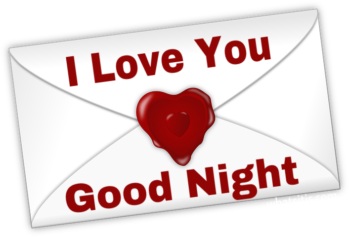 I love you good night pic