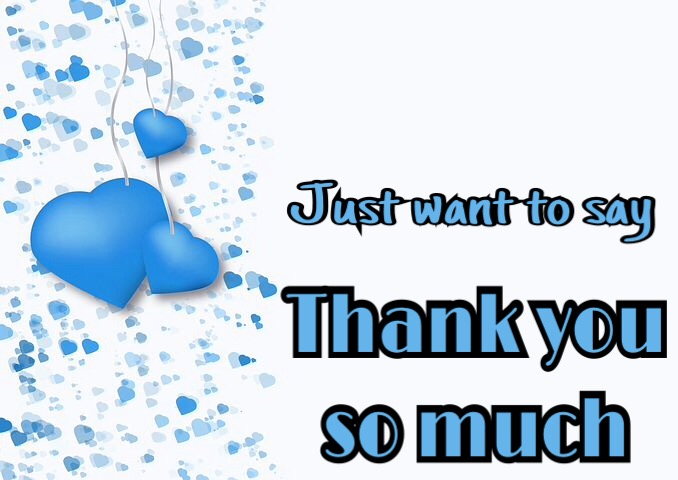 Just want to say thank you so much image