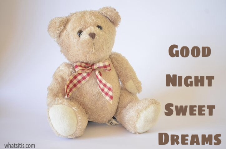 Good night sweet dreams image for friends
