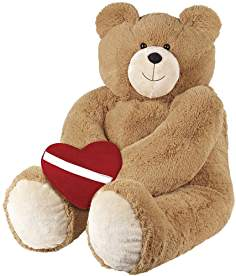 Teddy bear image with love