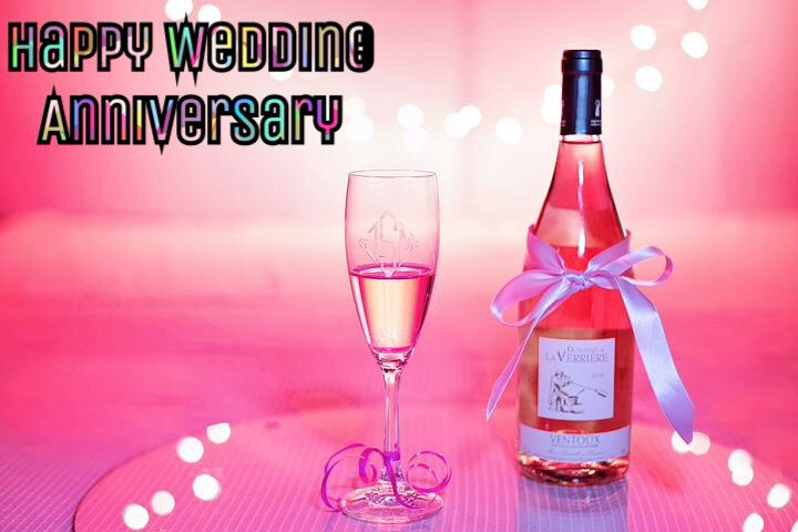 Romantic happy anniversary image for husband