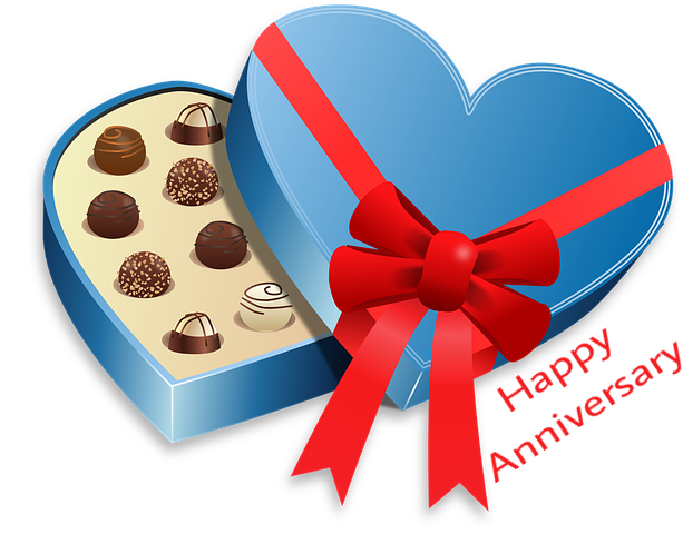 Happy anniversary gift image download