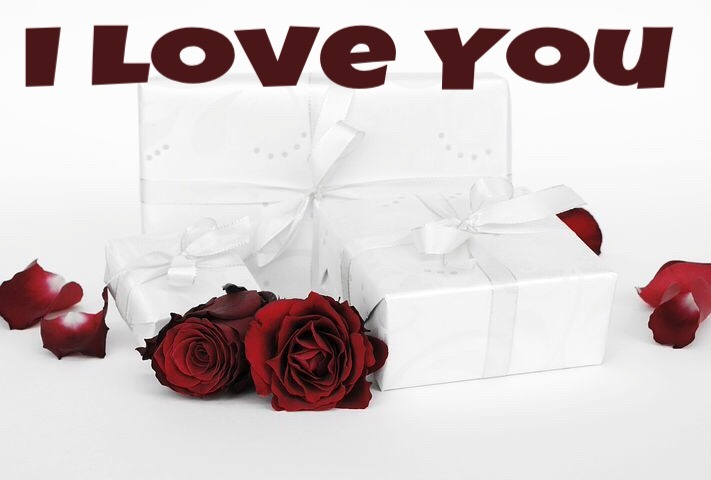 I love you image download with rose