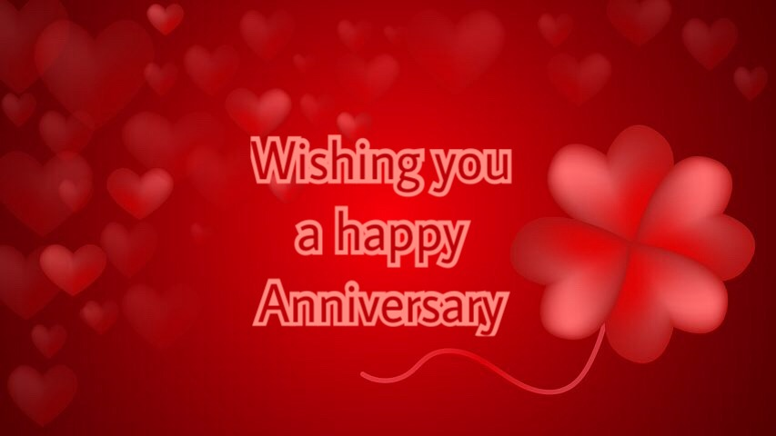 Wishing you a happy Anniversary Whatsapp Images