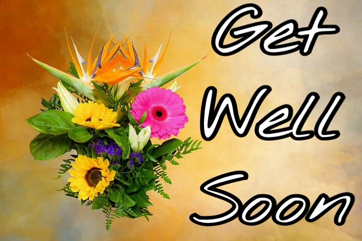 Get well soon images with flowers