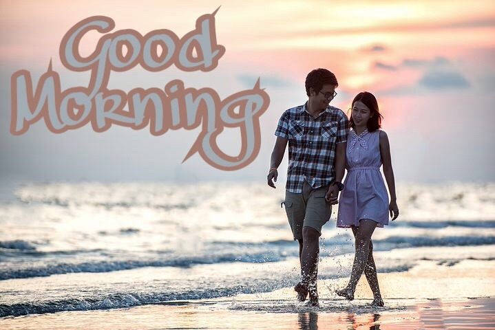 Couple Love good morning image for girlfriend