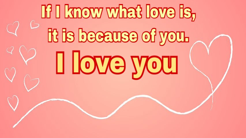 Sweet I love image with quotes