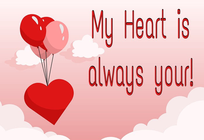 My heart is always your love pic