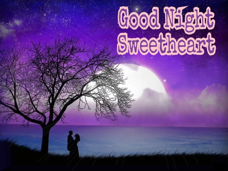 good night sweetheart image download