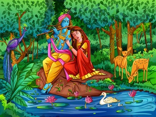 Radha Krishna Love Images For Dp