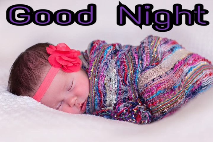 good night images with cute babies hd