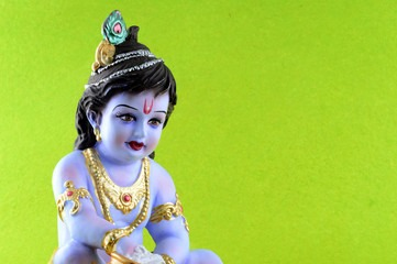 cute krishna dp for whatsapp