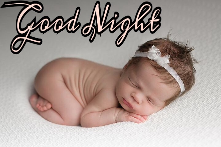 33 Very Cute Good Night Baby Images Download ? With Baby Boy & Girl