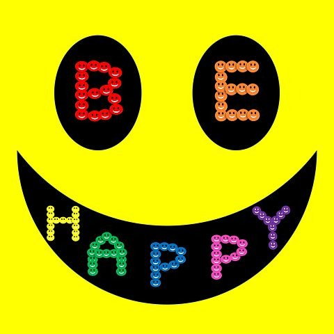 Be happy image for whatsapp dp