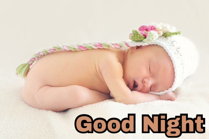 Cute Good Night Baby Images Download ?