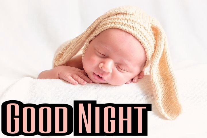 Beautiful Baby Good Night Image