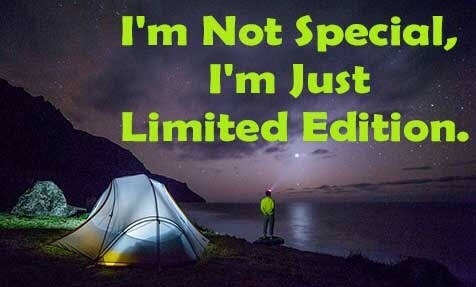 i am not special i am just limited edition image