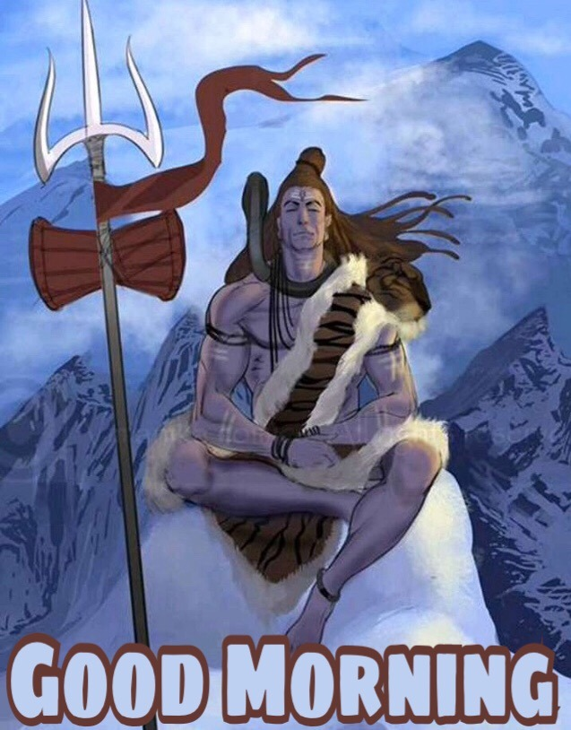 monday morning images with lord shiva