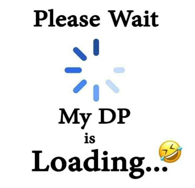 whatsapp dp pic is loading