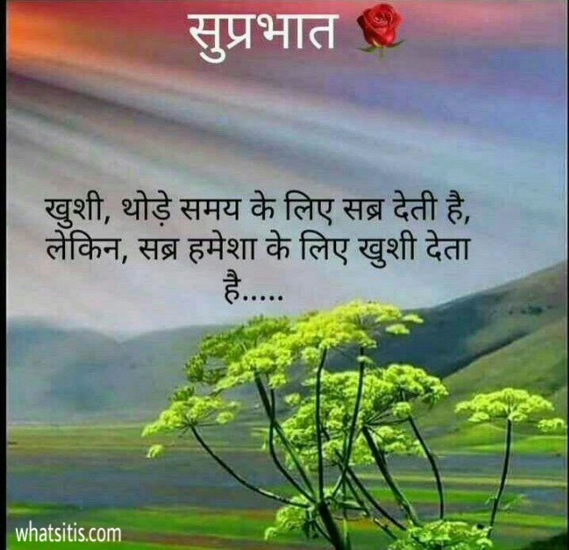 Best Hindi shayari good morning image