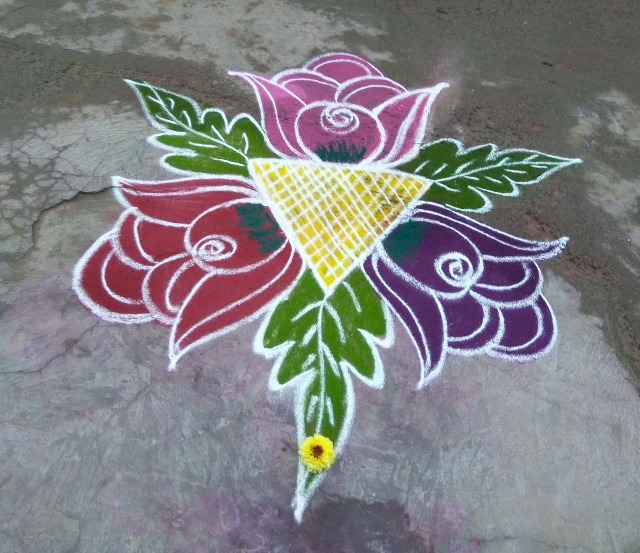 rangoli images simple and beautiful