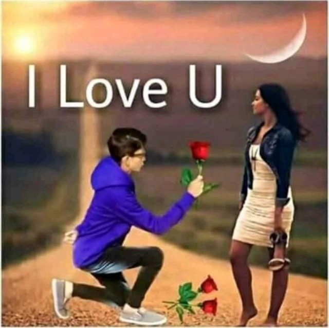 Romantic DP for WhatsApp