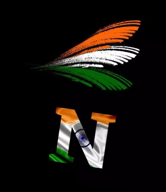 N letter independence day image