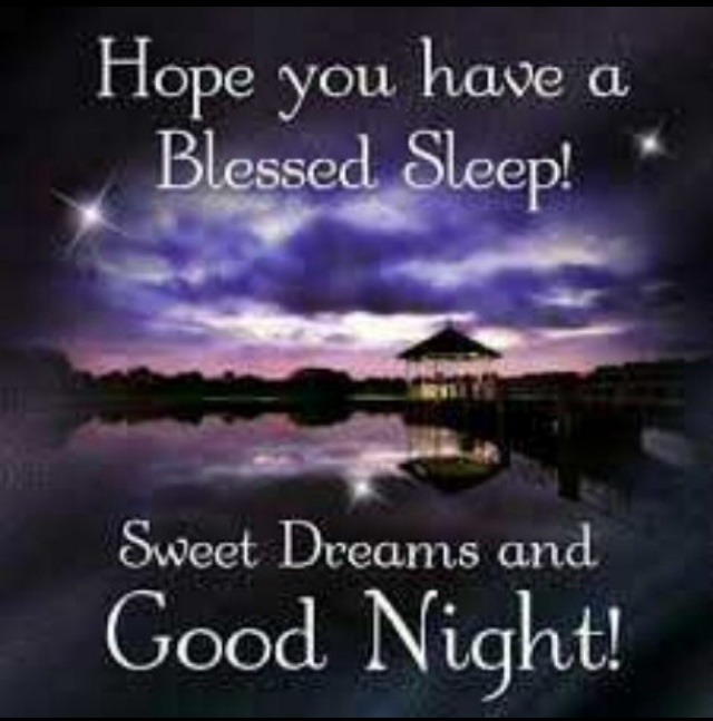 Hope you have a blessed sleep sweet dreams and good night pictures images