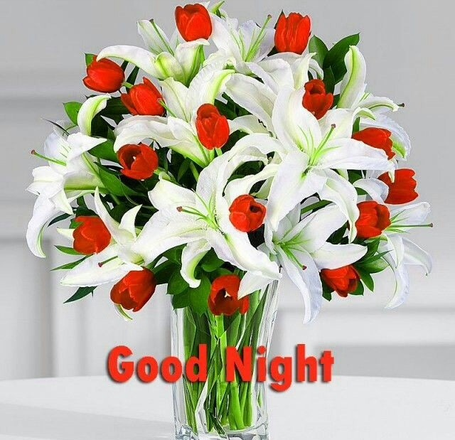Flowers good night pictures images