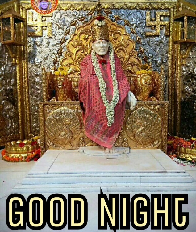 sai good night image