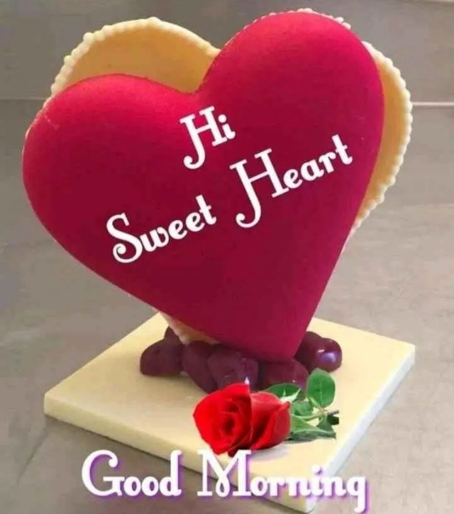 Hi sweetheart good morning image